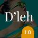 D'leh - Creative Multi-Purpose PSD Template - ThemeForest Item for Sale