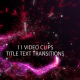 Particle Trails Text Reveals 11 Pack - VideoHive Item for Sale