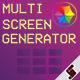 Multi Screen Generator - VideoHive Item for Sale