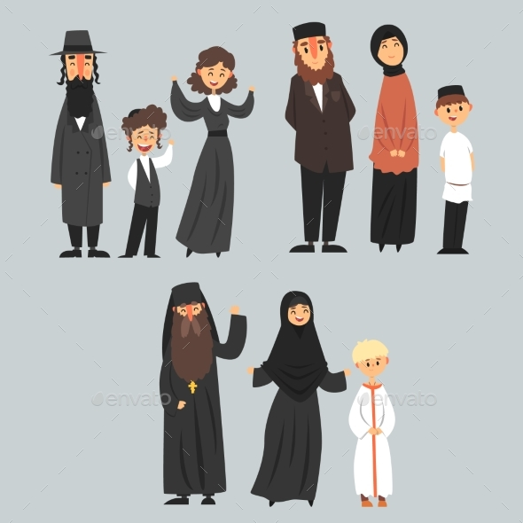 People of Different Religions