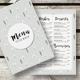 Winter Restaurant Menu - GraphicRiver Item for Sale