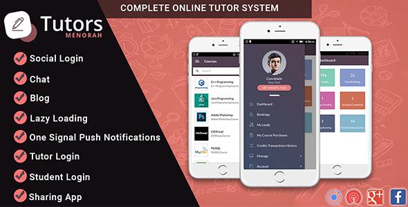 MenorahTutor - Tutor Directory Mobile App