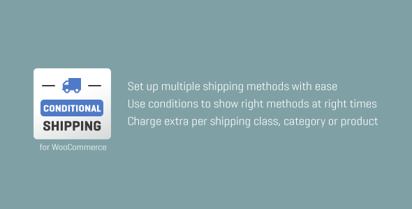 WooCommerce Conditional Shipping Download