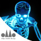 Glowing Disco Skeleton - VideoHive Item for Sale