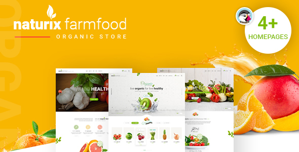 JMS Naturix - Organic Fruit Vegetables Prestashop Theme
