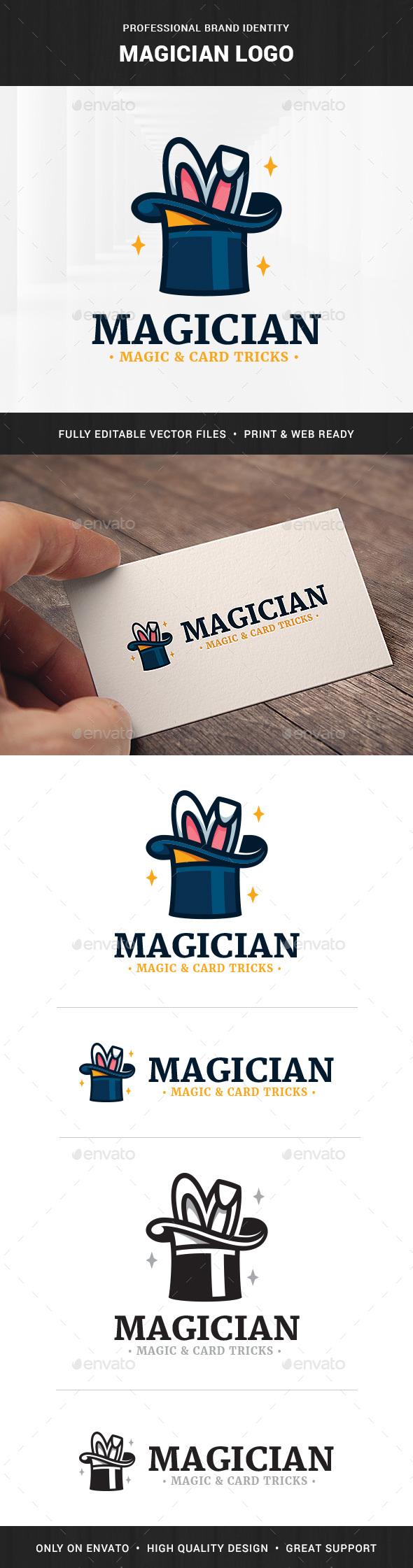 Magician Logo Template