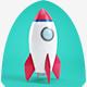 Rocket Logo Reveal - VideoHive Item for Sale