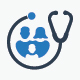 Family Healthcare Icon Set - Blue Version - GraphicRiver Item for Sale