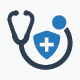 Health Insurance Icons - Blue Version - GraphicRiver Item for Sale