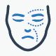 Plastic Surgery Icons - Blue Version - GraphicRiver Item for Sale