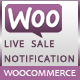 Woocommerce live sales notification - CodeCanyon Item for Sale