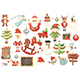 Merry Christmas Characters and Xmas Elements - GraphicRiver Item for Sale
