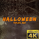Halloween Titles Set - VideoHive Item for Sale