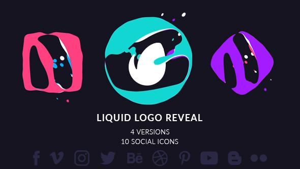 Simple Liquid Logo