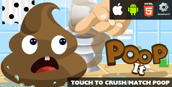 Poop It - HTML5 Game (CAPX) Download