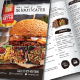 A4 Bi-Fold Food Menu Template - GraphicRiver Item for Sale