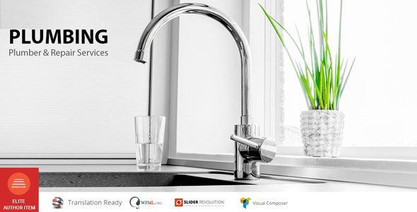 Plumbing – Repair services WP Theme