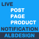 Live Post Page Product Notification - CodeCanyon Item for Sale