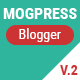 Mogtemplates - MogPress Template For Blogger - Multiple Styles - ThemeForest Item for Sale
