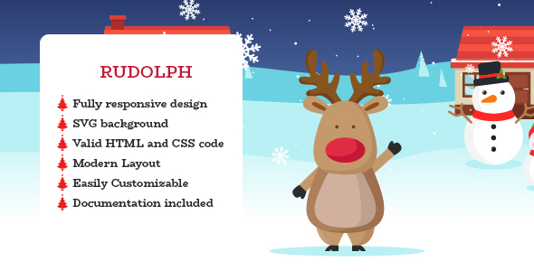 Rudolpn - A Christmas E-Card