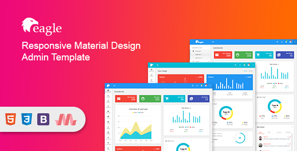 Eagle - Material+ Bootstrap Admin Template