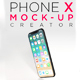 Phone X Mockup Creator - GraphicRiver Item for Sale