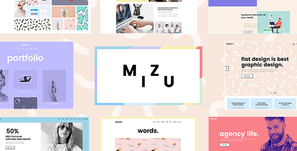 Mizu - A Theme for Design Agencies and Creative Studios