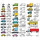 Collection of Cartoon Toys Icons - GraphicRiver Item for Sale
