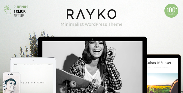 Rayko - Minimal Multi-Concept WordPress Theme