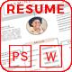 Resume - Jasmine - - GraphicRiver Item for Sale