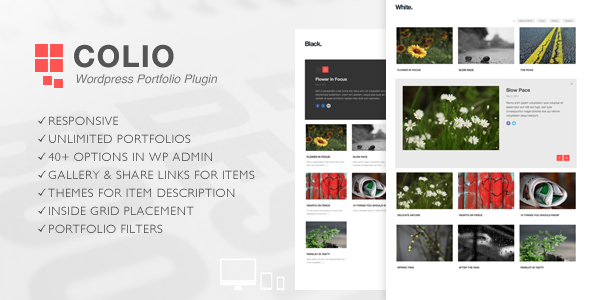 Colio - Responsive Portfolio Wordpress Plugin