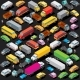 Isometric Cars Parking - GraphicRiver Item for Sale