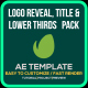 Simple Title and Logo Reveal Pack - VideoHive Item for Sale