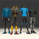 Male mannequin Nike pack 1 3D model - 3DOcean Item for Sale