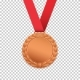 Bronze Medal Isolated on Transparent Background - GraphicRiver Item for Sale