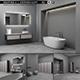 Bathroom furniture set Bespoke 6 - 3DOcean Item for Sale
