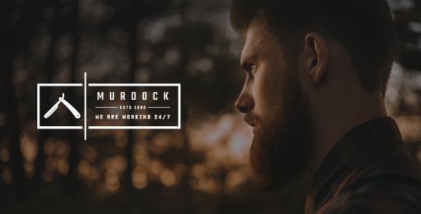 Murdock - Barbershop & Hair Salon HTML Template