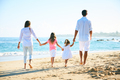 Happy Family on the Beach - PhotoDune Item for Sale