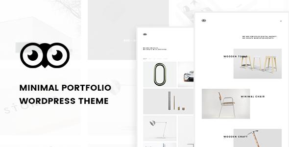 Owlfolio - Personal Portfolio WordPress Theme