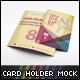 Card Holder Mockup V1 - GraphicRiver Item for Sale