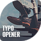 Typography Opener Dynamic Slideshow - VideoHive Item for Sale