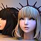Uni Hair - 3DOcean Item for Sale