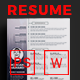 Resume - Morgan - - GraphicRiver Item for Sale