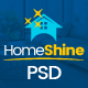 HomeShine - Multi Purpose PSD Template