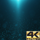 Blue Light Sparkles Background 4K - VideoHive Item for Sale
