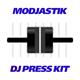 MaDJestik - DJ Press Kit / DJ Resume / DJ Rider PSD Template - GraphicRiver Item for Sale