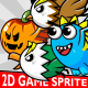 4 Fly Enemy Pack Game Sprite - GraphicRiver Item for Sale