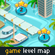 Game Level Map for Water Games - GraphicRiver Item for Sale