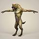 Game Ready Fantasy WereWolf - 3DOcean Item for Sale