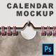 Spiral Calendar Mockup - GraphicRiver Item for Sale
